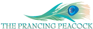 Prancing Peacock Logo